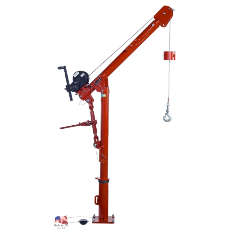 Thern Commander Series 5PT5 (Up to 295 kg kg capacity) Lifting Davit with Manual or Electric Winch