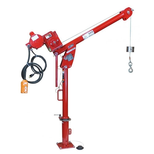 Thern First Mate Series 5PF5 (Up to 385 kg capacity) Lifting Davit with Manual or Electric Winch