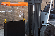Forklift Jibs, Lifting Beams and Attachments