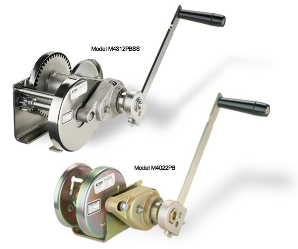 Thern Hand Operated Winches