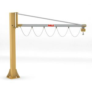 Eepos Column Mounted Swing Jib Cranes with lightweight aluminium arm up to 500kg capacity