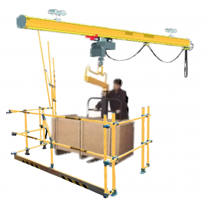 Hi-Gate Universal Safety Pallet Gate with Unlimited Load Height