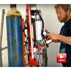 Lifts All Gas Cylinder Handlers -  Features lift and rotate model