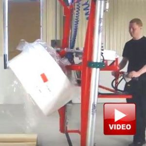 Lifts All high lift roll stacker / rotator