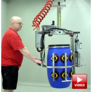 Lifts All Vacuum Handler for Drums - Lifts and Rotates