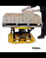 WRSPP360-2000 Pallet Leveller / Rotator - Self-levelling Lift Table 2,000 kg capacity