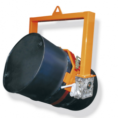 Invicta 360 kg Crane Slung Drum Tilter with Crank Handle ICTL-1