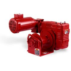 Thern E2 3WG4B-K electric winch - 115 VAC, 1 phase with 6 foot pendant control - enamel finish - E2 3WG4B-K
