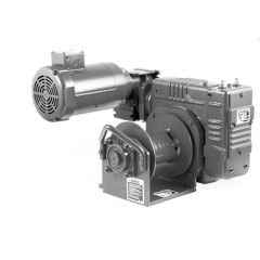 Thern E2X 3WG4B-KX electric winch - 115 VAC, 1 phase with 6 foot pendant control - epoxy finish- E2X 3WG4B-KX