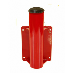 Thern 5BW5 Red Powder Coat Paint Base to mount against a wall - 5BW5