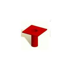 Thern 5BF10 powder coat finish socket flush mount base  - 5BF10