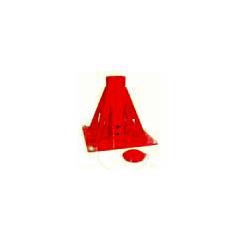 Thern 5BP30 powder coat finish pedestal upright mount base - 5BP30