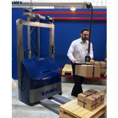 TAWI Forktruck Attached Mobile Order Picker - Vacuum Lifter - C35 - 35 kg capacity