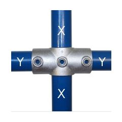 119 Two Socket Cross (Middle Rail) Combination