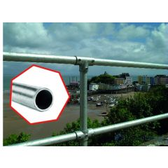 C42 - 42.4 mm OD Ready-Made Posts and Handrail Kits All Galvanised