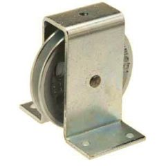 Galvanized cast iron wire rope pulley with pressed steel bracket ( ETT-160 ) - 100 kg to 400 kg Capacity