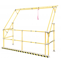 Gamma Standard Extra Wide Safety Pallet Gate Safety Yellow