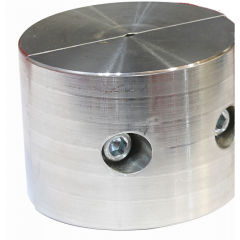 """Thern Headache Ball - Keeps winch rope taut when no load is attached. Attach to cable.-304 Stainless steel f fits 1/4"""" to 3/8"""" Rope"""