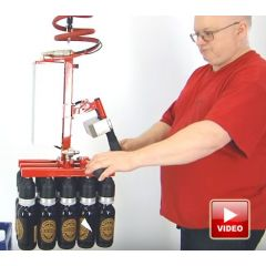 Multi-bottle lifter