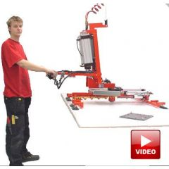 Lifts All Custom Lifter for Boards, Doors and Sheet Handling - Lifts, Tilts and Rotates