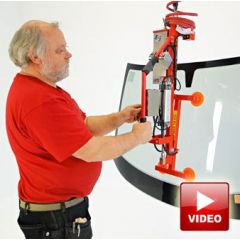 Lifts All Lifter for lifting and positioning Windscreens on cars and buses