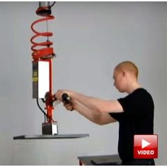 Lifts All Steel Magnet Gripper System