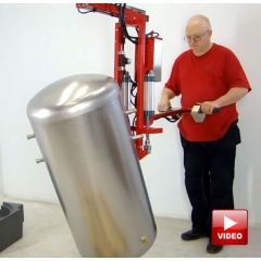 Lifts All Water Tank Handling System - Lifts and Rotates