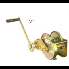Thern M1 - M4312PB-K-CE corrosion-resistant spur gear hand winch - M1-M4312PB-K