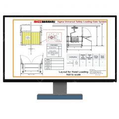 Custom Pallet/Load Handling Safety Gate Design