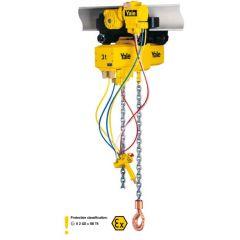 Pneumatic chain hoist model CPA ATEX