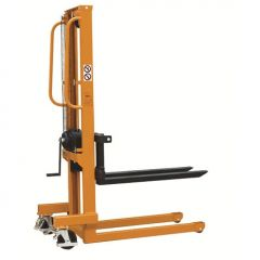 Raptor Manual Winch Stackers c/w Adjustable Forks WS Series