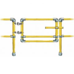 Self Closing Retro-Fit Safety Gate - Safety Yellow Tube
