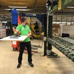 TAWI Articulated Arm Swing Jib Cranes