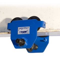 Tractel Corso Push Trolley with quick lever adjustment