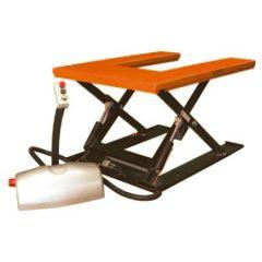 WRSLPU10 - U Shaped Top Low Profile Static Lift Table - 1,000 kg Capacity