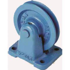 WIRE ROPE PULLEY BRACKET MOUNTED WITH BRONZE BUSH ( WZ ) - 150 to 3200 kg CAPACITY