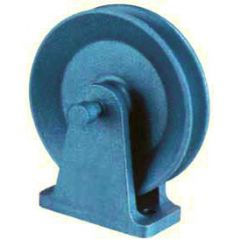 WIRE ROPE PULLEY BRACKET MOUNTED WITHOUT BUSH - 50 to 1000 kg CAPACITY