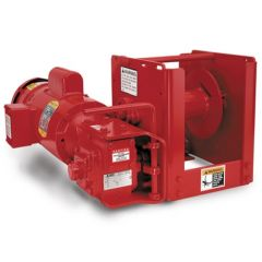 Thern E5A1 4WS3M6-K1A1 electric winch - 115 VAC, 1 phase with 6 foot pendant control - enamel finish - E5A1 4WS3M6-K1A1