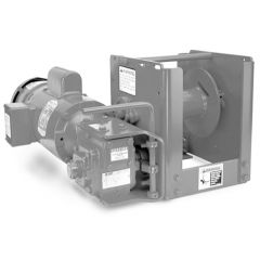 Thern 4WS3M6-K1XA1 electric winch - 115 VAC, 1 phase with 6 foot pendant control - epoxy finish - E5A1 4WS3M6-K1XA1