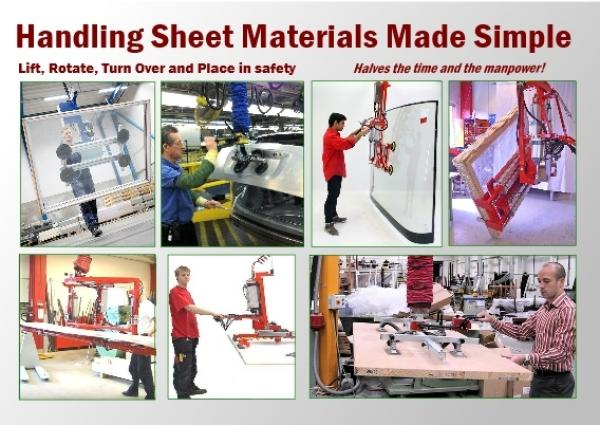 How Do YOU Handle Sheets, Boards and Glass Easily and Safely?