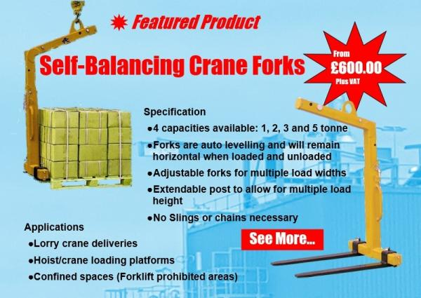 Featured Product - Self-Balancing Crane Forks