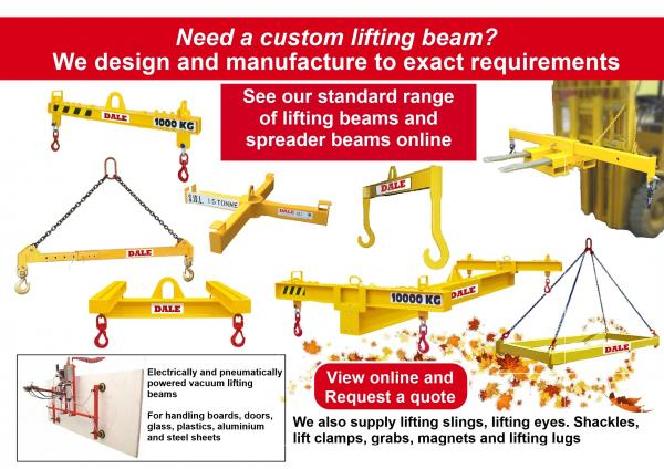 Lifting beam – v – Lifting Spreader - It's important to know the difference!