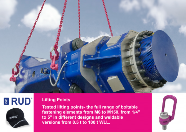 RUD Lifting Points guarantee safety