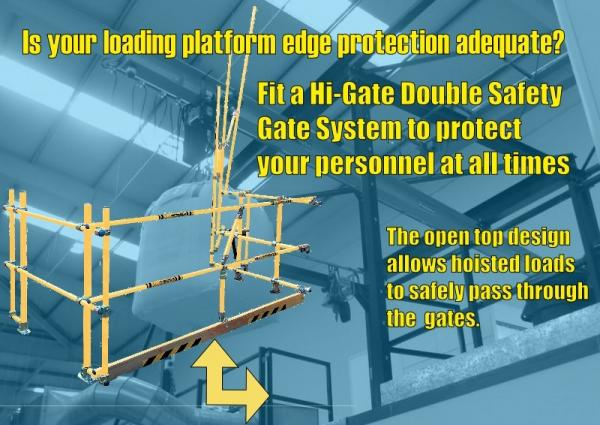 Is YOUR Loading Platform Edge Protection Adequate?