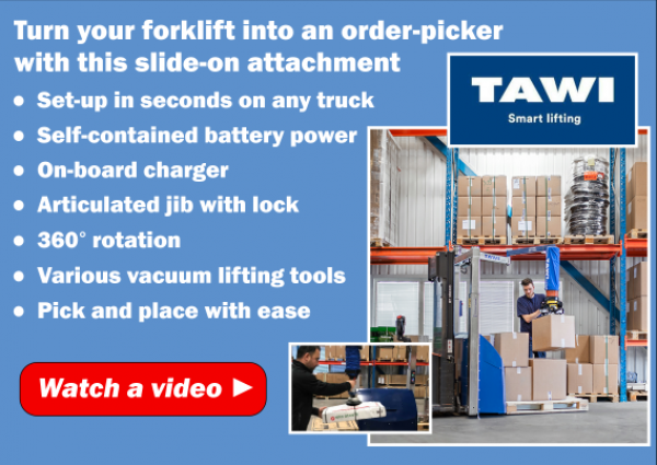 How to Turn Your Forklift into an Order Picker
