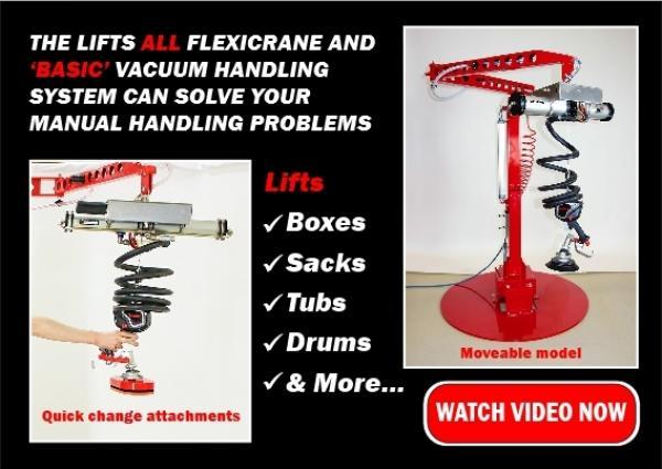 Lifts All Basic + Flexicrane Handling System