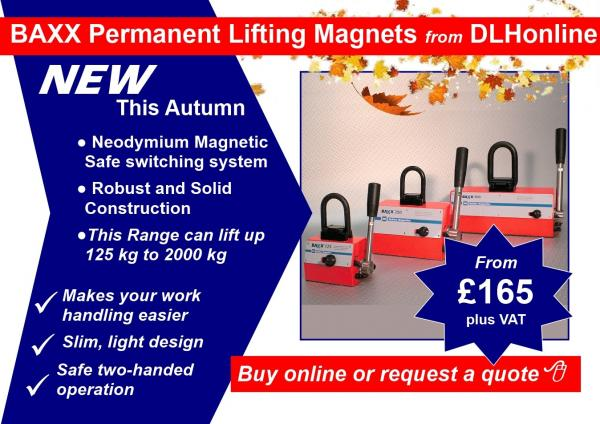 BAXX Lifting Magnets - Superior Quality at Lower Cost