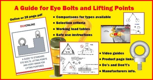 How to Select the Correct Lifting Eyebolt