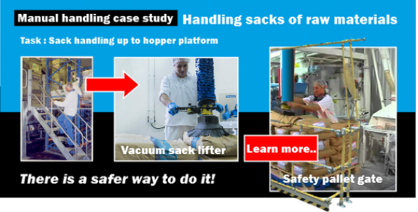 Case Study - Sack Handling on Hopper Platform