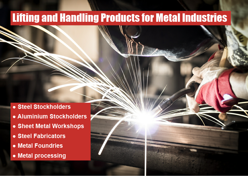 Lifting and Handling Products for Metal Industries